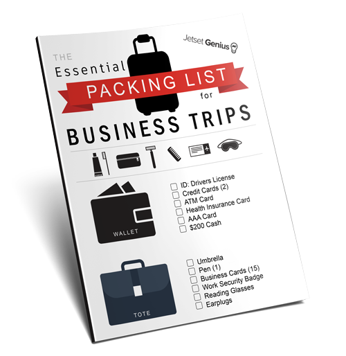 Essential Packing List for Business Trips Free (2)